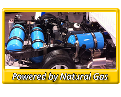 Powered by Natural Gas